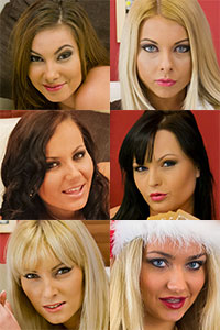Another hot five in Full HD released and a free Santa Girl on the way...