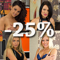 Valentine's day 25% discount & backstage photos