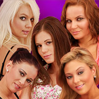 Little Caprice and her 4 friends available in HD