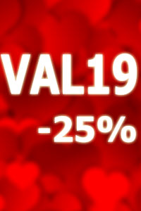 Valentine's Day -25% offer