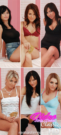 6 girls from the Video Strip Poker Classic remastered in HD
