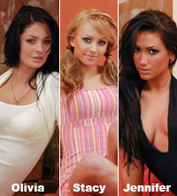 3 girls from the Video Strip Poker Supreme are available in HD now