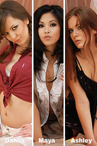 3 new girls from the Video Strip Poker Supreme Pack 4 in HD now
